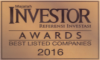 """Best Listed Companies - Best Listed Companies 2016 in """"Diversified Manufacturing Sector"""""""